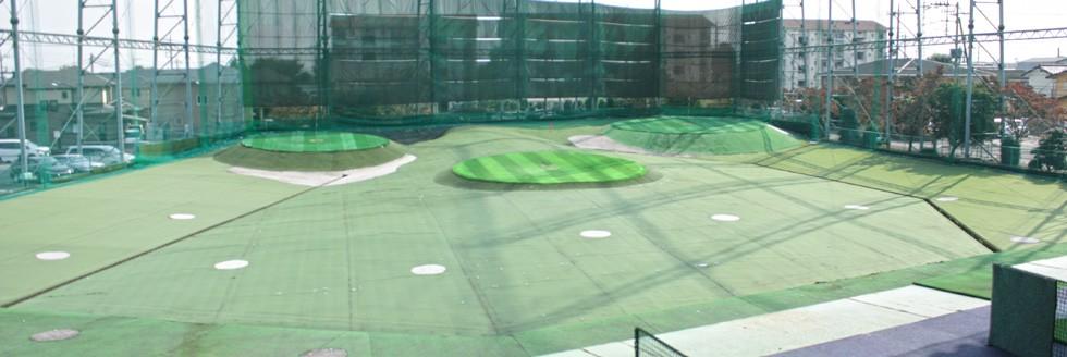 ゴルフが上手くなる練習場「霜原ゴルフガーデン」